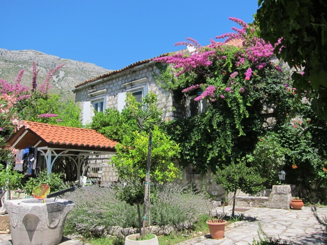 13th Century Dubrovnik Summer Villa First Line To The Sea With Mooring And A Private Big Garden